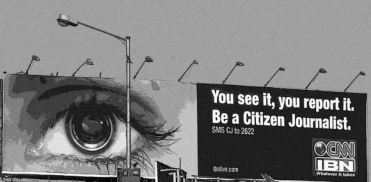 Anuncio de periodismo ciudadano