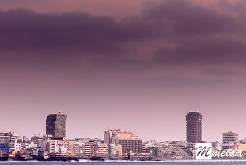 Las Palmas skyline