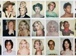 Selección de polaroids de Andy Warhol