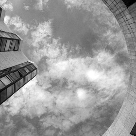 Celestial dome (bw edition)