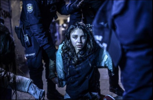 'Istanbul protest', by Bulent Kilic
