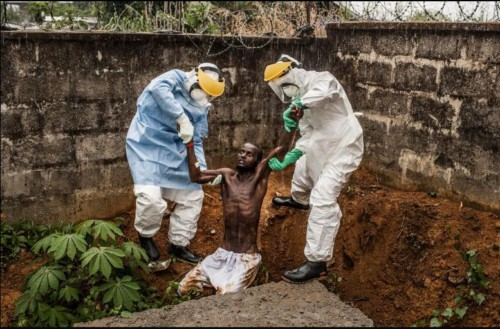 'Ebola in Sierra Leona', by Pete Muller
